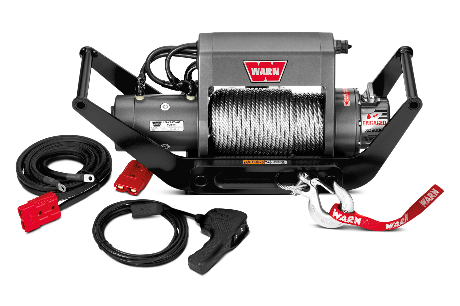 Warn 9000 lbs. 12V DC XD9000i Multi-Mount Self-Recovery Electric Winch Kit